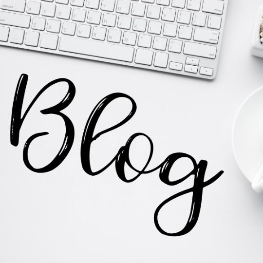 schrijven van blogs en social media berichten